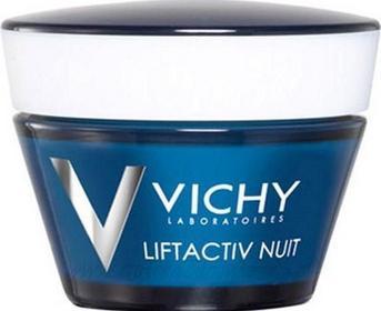 Vichy Liftactiv Nuit Krem na noc na zmarszczki długotrwały efekt liftingu 50ml