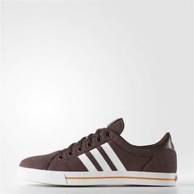 Adidas Adicourt Stripes D69231 brązowy