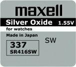 Maxell bateria srebrowa mini 337 / SR 416 SW