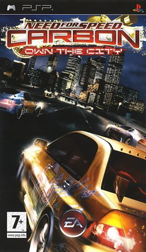 Need for Speed: Carbon Own The City PLATYNA PSP