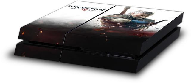 CD Projekt RED Skin PS4 Wiedźmin Biały Wilk OEM 5907610750682