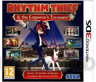 Rhythm Thief & The Emperors Treasure 3DS
