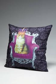 Kare Design Poduszka Royal Animals - kot - kot