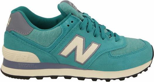 New Balance WL574PGW niebieski