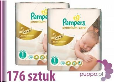 Pampers Premium Care 1 Newborn 176 szt.