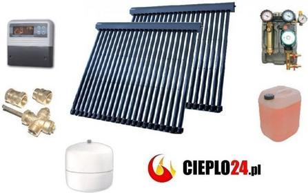 Lemet Zestaw solarny 2 x 22 kolektor próżniowy rurowy heat pipe kod producenta Z