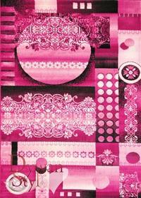 DywanStyl.pl Dywan Obrazy Acapulco różowy 140x190 prostokąt