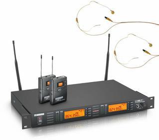 LD Systems LDWS1000G2BPHH2 - podwójny system bezprzewodowy mikrofon nagłowny