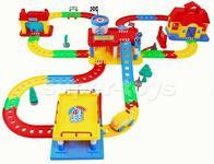 Super-Toys PIERWSZY TOR SAMOCHODOWY DLA MALUSZKA/788-10 788-10