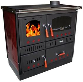 Koper piec kuchenny na drewno Special 90 GR czerwony