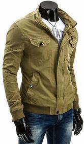 Dstreet kurtka męska (tx0781) - beżowy