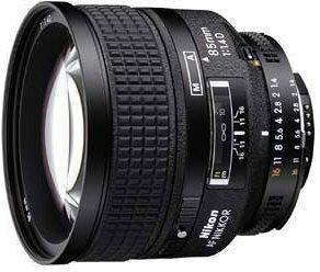 Nikon AF 85mm f/1.4D