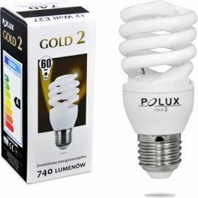 Polux świetlówka energooszczędna GOLD 2 mini 12W E27 SE9658