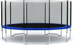 Hop-Sport Trampolina ogrodowa z siatka zewnetrzna 366 cm