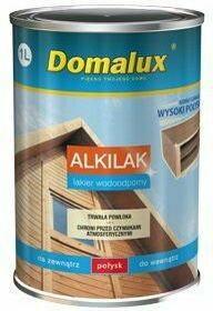 Polifarb PPG Cieszyn SA Domalux Alkilak, Lakier ftalowy modyfikowany 1L Połysk