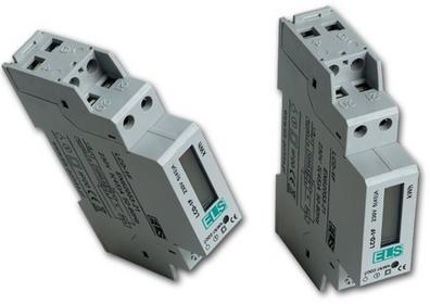 ELS Licznik zużycia energii elektrycznej 1F 5(45)A LCD-1F