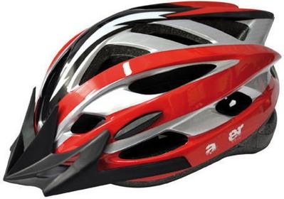 AXER Kask rowerowy Sport Tour Red Track A2392