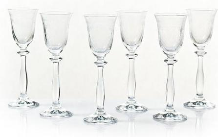 Bohemia Kieliszku do likieru, nalewek - Lady Hamilton Crystalex
