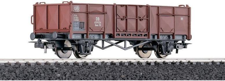 Piko H0 Otwarty wagon towarowy Omm39DB w skali H0 z oznaczeniami