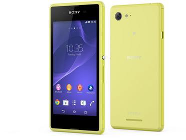 Sony Xperia E3 Żółty