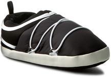 Moon Boot Kapcie MOON BOOT - Mb Apollo Slippers 44073000001 Black materiał/-materiał, skóra ekologiczna/-skóra ekologiczna