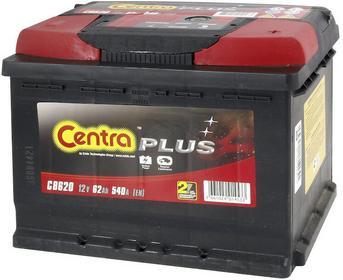 Centra Plus 12 V 62Ah 540A P+ CB620