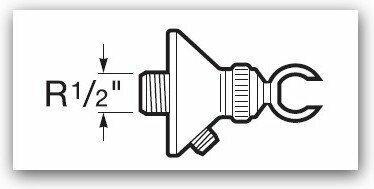 Roca ruchomy do słuchawki natryskowej