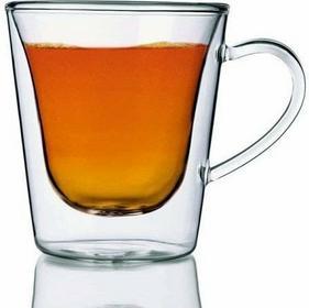 Luigi Bormioli DUOS Szklanki Termiczne do Kawy i Herbaty 295 ml