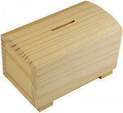 ŚWIAT ARTYSTY Skarbonka drewniana 21-294