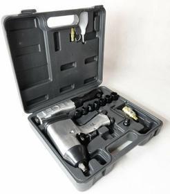 MAR-POL Zestaw pneumatyczny klucz udarowy z nasadkami 2+12