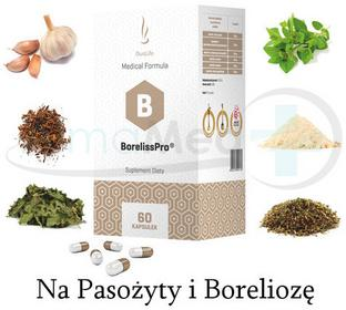 DuoLife Medical Formula BorelissPro na BORELIOZĘ I PASOŻYTY 60 kaps 349