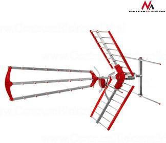 Maclean Antena zewnętrzna TV DVB-T MCTV-905 VHF/UHF MUX8