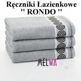 Zwoltex Ręcznik kąpielowy bawełniany 50x90 szary (rrsz50/90)