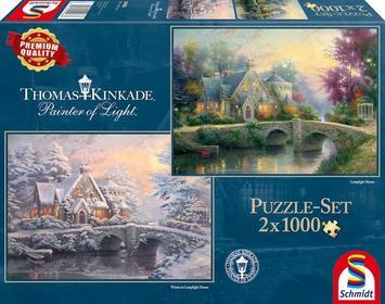 Obrazy 13-059468 Puzzle Hrabostwo Lamplight Manor