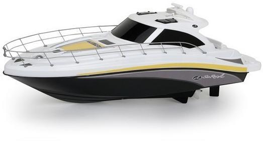 New Bright Sea Ray Boat łódź zdalnie sterowana czarna