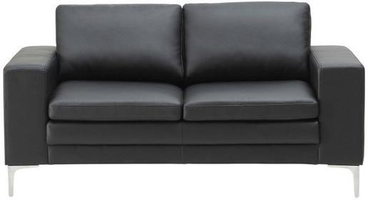 Actona Sofa Anaco, czarna, skóra ekologiczna, Company (0000061000)