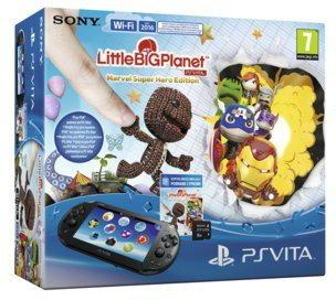 SONY PSVita + Little Big Planet Marvel Super Hero Edition Voucher