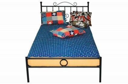 Lak System Łóżka Metalowe Łóżko do sypialni 140x200 WZÓR 4 J 1402004j