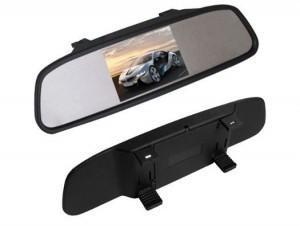 NVOX Monitor LCD 3,5 cala w lusterku wstecznym 12V