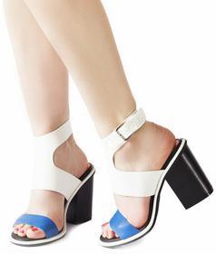 Białe sandały Elif biały