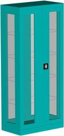 FX MEBLE Szafa medyczna SML 115 (przeszklone ścianki boczne)