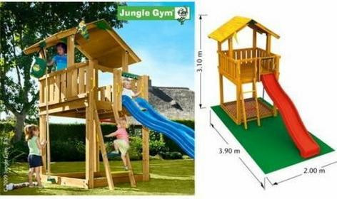 Jungle Gym Plac zabaw Chalet