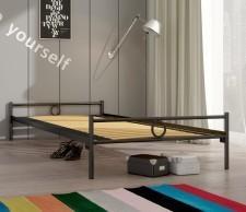 Lak System łóżko metalowe Basic 120 x 200 cm 120200basic