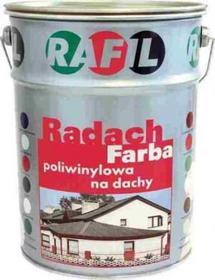 Rafil RADACH Farba na dach - Brązowa mahoń 10L (połysk)