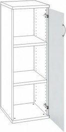 B2B Partner Drzwi z mlecznym szkłem prawe 154798
