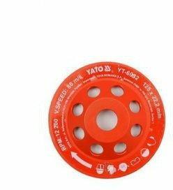 Yato tarcza szlifierska diamentowa 125x22,2 mm