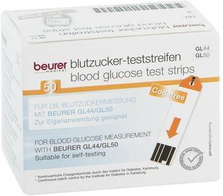Beurer Gl44/50 Teststreifen GmbH Gesundheit und Woh 07586931