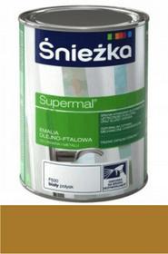 Śnieżka Emalia Supermal olejno-ftalowa orzech jasny F555 400ml 10487