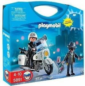 Playmobil Przenośna walizka - Ujęcie złodzieja 5891