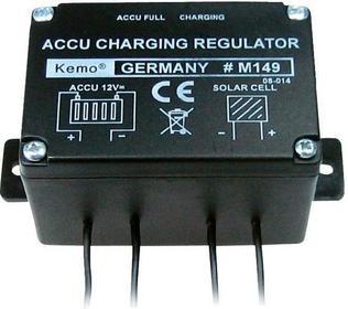 Regulator ładowania modułów solranych Kemo M149 6 A 12 V